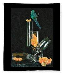Le Perroquet Vert Fleece Blanket