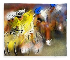 Le Tour De France 05 Fleece Blanket