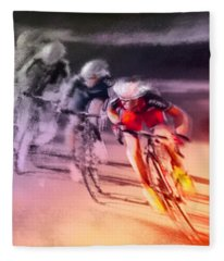 Le Tour De France 13 Fleece Blanket
