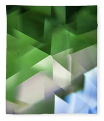 Leaded Crystal Facets Fleece Blanket
