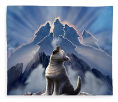 Cliff Fleece Blankets