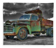 Leadville Coal Company Fleece Blanket