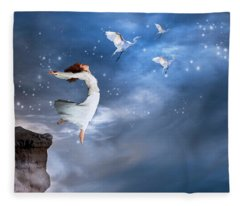 Leap Of Faith Fleece Blanket