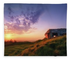Legacy Of The Ancients Fleece Blanket