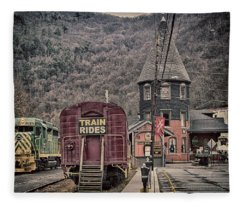 Lehigh Gorge Scenic Railway Fleece Blanket