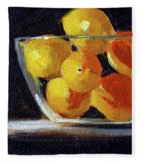Lemon Bowl Fleece Blanket