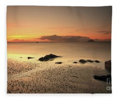 Lendalfoot Sunset Ref8962 Fleece Blanket