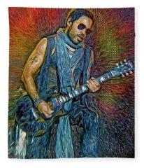 Lenny Kravitz, Musician Fleece Blanket