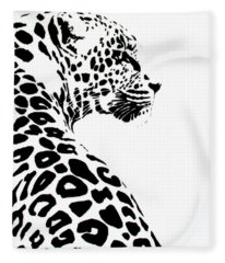 Leo-pard Fleece Blanket