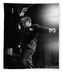 Leonard Bernstein Fleece Blanket