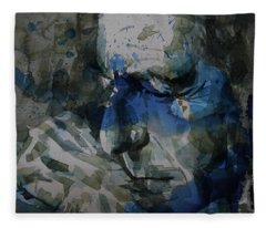 Leonard Cohen - It Goes Like This The Fourth The Fifth Fleece Blanket