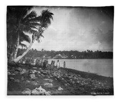 Leoni, Tutuila, Samoa, Photographed In Tutuila, Samoa, Published By Kerry And Company, Sydney, New Fleece Blanket