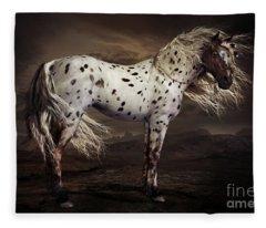 Leopard Appalossa Fleece Blanket