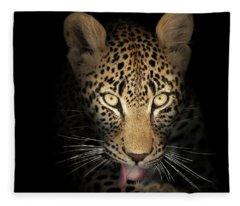 Leopard Fleece Blankets