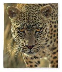 Leopard - On The Prowl Fleece Blanket