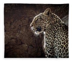 Leopard Fleece Blanket