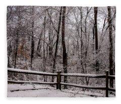 Let It Snow Fleece Blanket