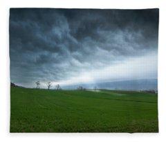 Let The Light In Fleece Blanket