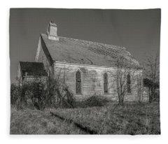 Levanna Road Church Fleece Blanket