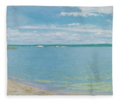 Lewis And Clark Lake Fleece Blanket