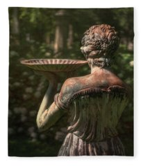 Lexington Bird Lady Fleece Blanket