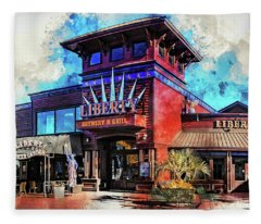 Liberty Brewery And Grill Myrtle Beach Fleece Blanket