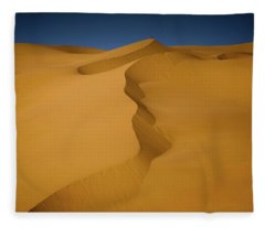 Libya Dunes Fleece Blanket