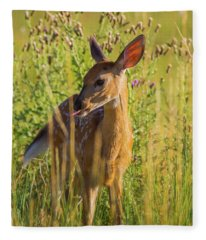 Lick It Up Fleece Blanket