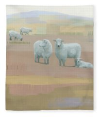 Life Between Seams Fleece Blanket