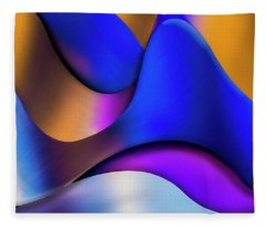 Life In Color Fleece Blanket