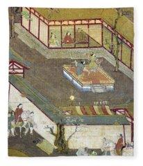 Life Of Buddha Fleece Blanket