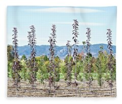 Life On A Tree Farm-foothills View #1 Fleece Blanket