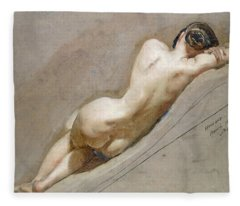 Life Study Of The Female Figure Fleece Blanket