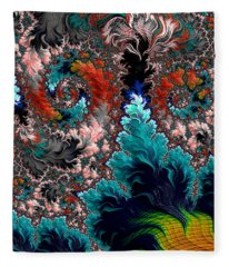 Life Underwater Fleece Blanket