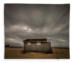 Lifeguard Shack Fleece Blanket