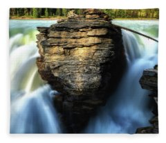 Fleece Blanket featuring the photograph Light And Movement by Rick Furmanek