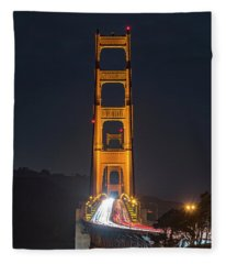 Light Gateway Fleece Blanket
