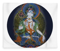 Light Giving Shiva  Fleece Blanket