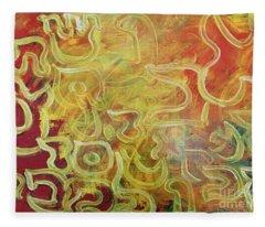 Light In The Letters Ab25 Fleece Blanket