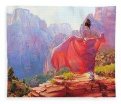 Light Of Zion Fleece Blanket