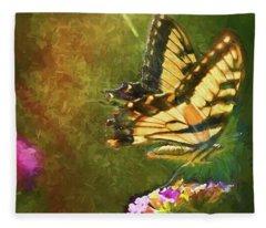 Light On Beauty Fleece Blanket