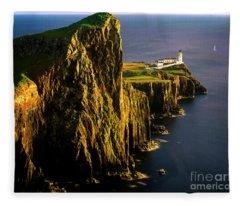 Light On The Rock Fleece Blanket