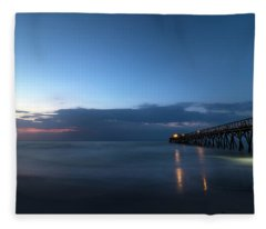 Light On The Water Fleece Blanket