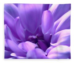 Light Purple Beauty Fleece Blanket