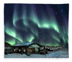 Light Through The Night Fleece Blanket