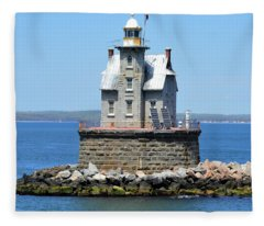 Lighthouse 2-c Fleece Blanket