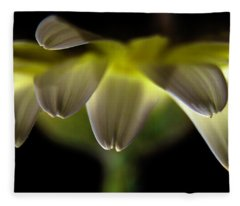 Lighting Up The Petals Fleece Blanket
