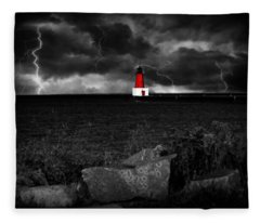 Lightning House Fleece Blanket