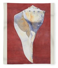 Lightning Whelk Conch I Fleece Blanket