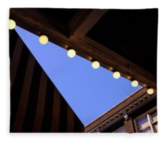 Lights Roofs And Triangles In Frederick Maryland Fleece Blanket